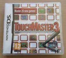 Touch Master 3 Game For Ds Dsi Ds Lite 3Ds Nintendo NEW & SEALED **99p UK P&P**