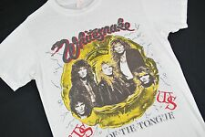 MENS S VTG 80s Whitesnake SLIP OF THE TONGUE T Shirt Concert Tour Bad English