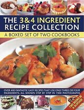 The 3 & 4 Ingredient Recipe Collection: A box set of two cookbooks: over 450 fa
