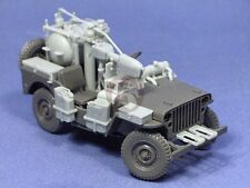 Resicast 1/35 Popski's WASP Flamethrower Jeep Conversion Set (for Tamiya) 351226
