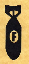 Drop the F Bomb Humorous Rubber Stamp