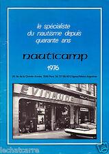 Bateaux - Catalogue Nauticamp + Grille des Tarifs - Hors-Bord - 1976 - Rare !