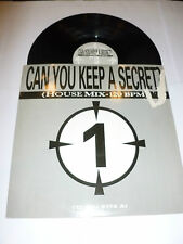CAN YOU KEEP A SECRET? - Rare deleted UK 2-track Vinyl Single DJ PROMO