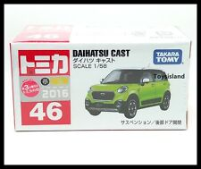 TOMICA #46 DAIHATSU CAST 1/58 TOMY 2016 JUNE NEW MODEL DIECAST CAR
