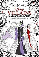 Art of Coloring: Disney Villains 100 Images to Inspire Creativity and...