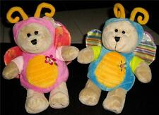 2 pieces  Starbucks Bearista Bear GIRL & Boy Spring Butterfly with tag