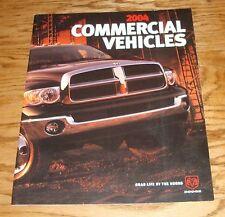 Original 2004 Dodge Truck Commercial Vehicles Deluxe Sales Brochure 04