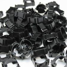 100X Black DIY 18650 Battery Holder Bracket Lidless Battery Pack