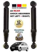 FOR CITROEN XSARA PICASSO REAR LEFT + RIGHT HAND SHOCK SHOCKERS ABSORBER SET