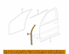 Weather Strip Seal front Door Cadillac STS 05 06 07 08 09 10 11 GM 25816797 G2