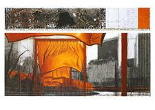 Christo Poster Kunstdruck Bild Offset The Gates XIX 70x100cm Kostenloser Versand