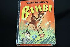 Bambi 1469 Better Little Book VG 1942 Walt Disney The Prince Of The Forest