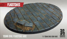 Flagstones 1 x 120mm OVALE RESINA BASE
