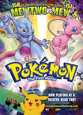 Pokemon The First Movie Poster Print..A3 260gsm