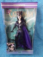 2003 Barbie Doll * Cat Woman * DC Comics * NRFB