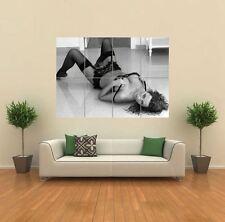 SOPHIE HOWARD SEXY LINGERIE BLACK WHITE HUGE GIANT ART PRINT POSTER WALL G944