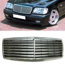 For Benz W140 S500 S600 S320 S350 1991-1998 Front Grill Stripes Mesh Cover