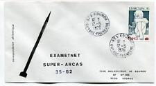 1976 Exametnet Super Arcas 35/92 Kourou Guyane Francaise Ville Spatiale SPACE