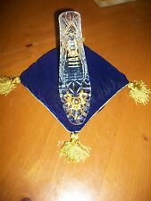 FRANKLIN MINT CINDERELLA 24 k gold plated lead Crystal Glass Slipper No Pillow