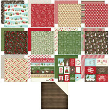 Echo Park The Story of Christmas Scrapbook Paper 13 Sheets 12x12 Double Sided