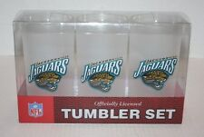 NEW NFL Jacksonville Jaguars Tumbler 3 Pack Set Acrylic 19 oz. Glasses
