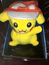 Pokemon Pikachu avec ash cap soft plush toy