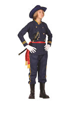 UNION OFFICER TEEN COSTUME CIVIL WAR SOLDIER GENERAL ARMY TEENAGE UNIFORM 77092