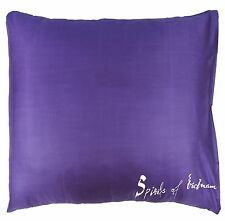 EUROPEAN CONTINENTAL Silk Bed Pillow Case Slip Cover 65 x 65cm (25.6 x 25.6 in)