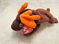 "Ty Beanie baby ""Chocolate""1993 Mint Condition Swing Tag Error Collectors Retired"