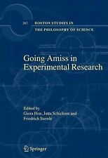 Going Amiss in Experimental Research 267 (2009, Hardcover)