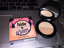 benefit cosmetics Hide & Sheen boi ing concealer corrector 01 light & Watt's Up
