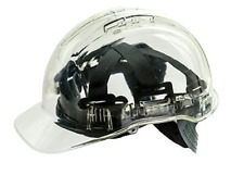 Peak View Translucent Safety Helmet | Hard Hat | Head Protection | Vented for |