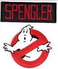 "Ghostbusters/Spengler No Ghosts Logo Screen Accurate 4"" Patch Set of 2(GBPA-SP)"