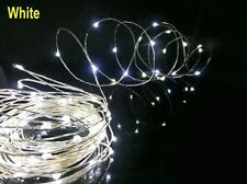 4m 40 LEDs Wire String Light Battery Fairy Lights Party Wedding Xmas Decor White