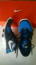 NIB Mens NIKE TOTAL CORE TRAINER Blue Black Size 7 Retail is more than $75.00