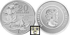 2011 'Maple Leaf' $20 Pure Silver Coin .9999 Fine (12795) ( NT)