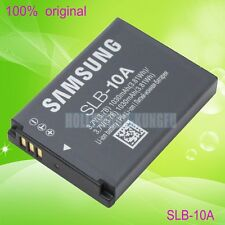 New Genuine Samsung SLB-10A Battery For L100 L200 L210 SL620 SL820 TL9 SBC-10A