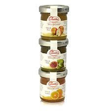 Sauces moutarde Trio à figues de poire Orange 150g (3x50g) Lazzaris