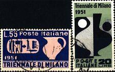 ITALIA REP. - 1951 - IX° Triennale di Milano