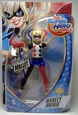 "HARLEY QUINN DC SUPER HERO GIRLS ACTION FIGURE 6"" MOSC SUICIDE SQUAD JOKER 2015"