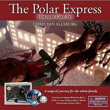 The Polar Express Holiday Gift Set Includes Book, DVD and Sleigh Bell