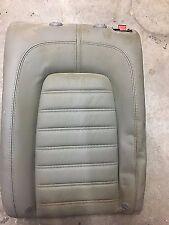 Rear Seat Left Back Rest Passat/CC/4 Motion Leather Grey