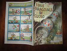 GLI ALBI DELL'INTREPIDO N°578 12-2-1957 I DUE BRACCIALI DI CUOIO