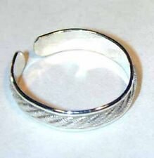 Sterling silver thumb ring- handcrafted crosshatch design