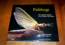 FISHBUGS Aquatic Insects Fly-Fishing Stream River Insect Fish Fisherman Book NEW