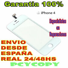 PANTALLA  TACTIL PARA IPHONE 4 4G 4S DIGITALIZADOR TOUCH SCREEN BLANCO A++