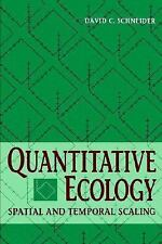 Quantitative Ecology: Spatial and Temporal Scaling-ExLibrary