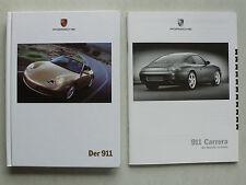 Prospekt Porsche 911 996 Carrera 2/4 Coupe/Cabrio, 9.1999, 118 Seiten + Preise