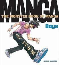 Monster Book of Manga: Boys-ExLibrary