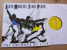 AIRTO MOREIRA/FLORA PURIM,THE COLOURS OF LIFE lp vg+/m- in+out rec. 001 Germany